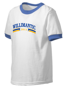 Protection of The BVM Parish Willimantic Kid's Ringer T-Shirt