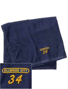 Purification of the Blessed Virgin Mary  Ellwood City Embroidered Beach Towel