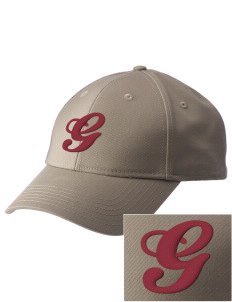 Greenfield Elementary School Mustangs  Embroidered New Era Adjustable Structured Cap
