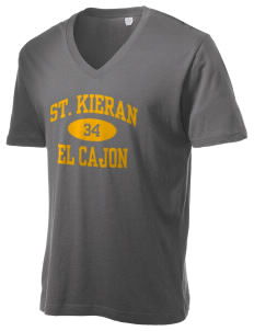 Saint Kieran El Cajon Alternative Men's 3.7 oz Basic V-Neck T-Shirt
