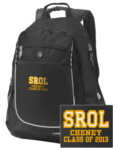 Saint Rose of Lima Cheney Embroidered OGIO Carbon Backpack