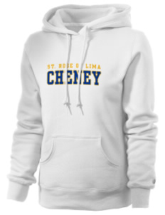 Saint Rose of Lima Cheney Russell Women's Pro Cotton Fleece Hooded Sweatshirt
