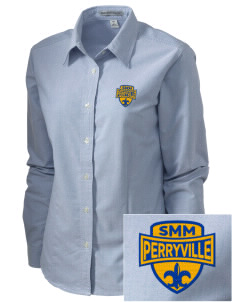 Saint Mary Mission - Perryville Perryville Embroidered Women's Classic Oxford
