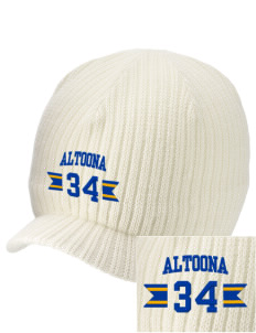 Saint Therese of the Child Jesus Altoona Embroidered Knit Beanie with Visor