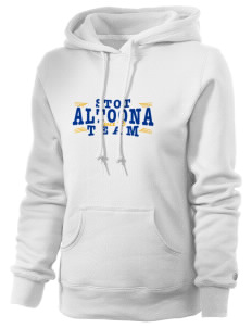 Saint Therese of the Child Jesus Altoona Russell Women's Pro Cotton Fleece Hooded Sweatshirt