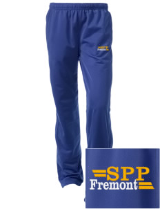 Santa Paula Parish Fremont Embroidered Women's Tricot Track Pants