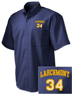 St Augustine Parish Larchmont Embroidered Men's Easy Care Shirt
