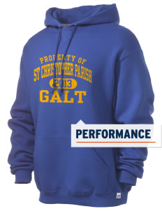 St Christopher Parish Galt Russell Men's Dri-Power Hooded Sweatshirt