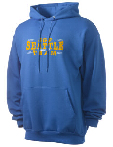 St George Parish Seattle Men's 7.8 oz Lightweight Hooded Sweatshirt