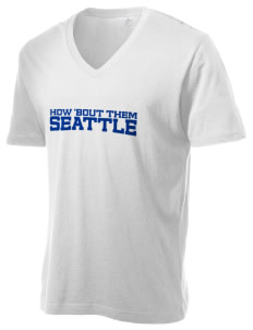 St George Parish Seattle Alternative Men's 3.7 oz Basic V-Neck T-Shirt