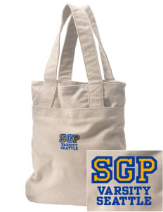 St George Parish Seattle Embroidered Alternative The Berkeley Tote