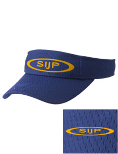 St Isaac Jogues Parish East Hartford Embroidered Woven Cotton Visor