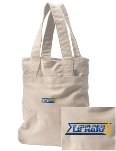 St Joseph Parish Le Mars Embroidered Alternative The Berkeley Tote