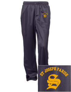 St Joseph Parish Stockbridge Embroidered Women's Tricot Track Pants