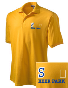 St Joseph Parish (Clayton) Deer Park Embroidered Men's Jersey Polo