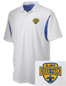 St Joseph Parish (Clayton) Deer Park Embroidered Men's Back Blocked Micro Pique Polo