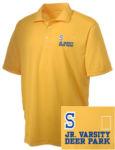 St Joseph Parish (Clayton) Deer Park Embroidered Men's Double Mesh Polo