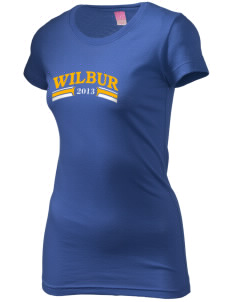 St Joseph Parish (Odessa) Wilbur  Juniors' Fine Jersey Longer Length T-Shirt