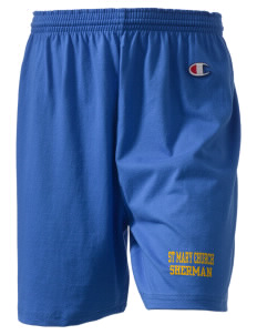 "St Mary Church Sherman  Champion Women's Gym Shorts, 6"" Inseam"