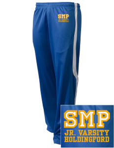St Mary Parish Holdingford Embroidered Holloway Men's Tricotex Warm Up Pants