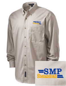 St Mary Parish Shenandoah Embroidered Tall Men's Twill Shirt