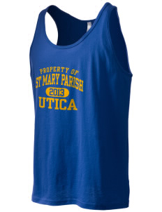 St Mary Parish Utica Men's Jersey Tank
