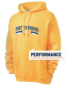 St Mary Star of The Sea Parish Port Townsend Russell Men's Dri-Power Hooded Sweatshirt