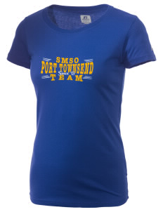 St Mary Star of The Sea Parish Port Townsend  Russell Women's Campus T-Shirt