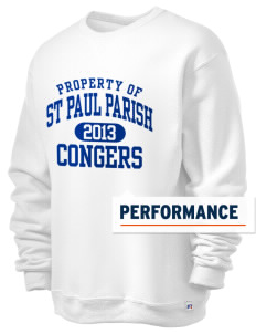St Paul Parish Congers  Russell Men's Dri-Power Crewneck Sweatshirt