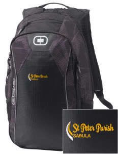 St Peter Parish Sabula Embroidered OGIO Marshall Backpack