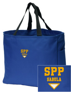 St Peter Parish Sabula Embroidered Essential Tote