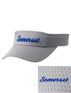 St Peter Parish Somerset Embroidered Woven Cotton Visor