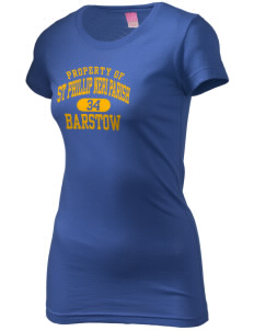 St Phillip Neri Parish Barstow  Juniors' Fine Jersey Longer Length T-Shirt