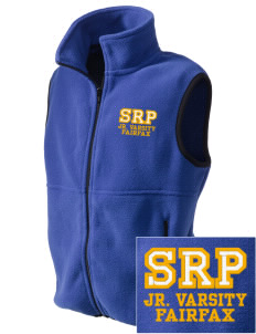 St Rita Parish Fairfax Embroidered Kids' Fleece Vest