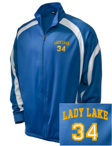 St. Timothy Parish School Lady Lake Embroidered Holloway Men's Tricotex Warm Up Jacket