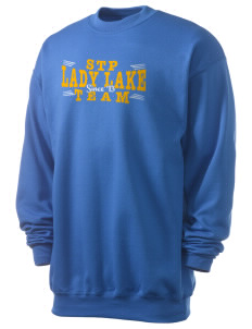 St. Timothy Parish School Lady Lake Men's 7.8 oz Lightweight Crewneck Sweatshirt