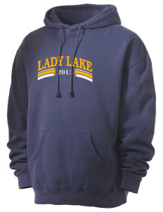 St. Timothy Parish School Lady Lake Men's 80/20 Pigment Dyed Hooded Sweatshirt