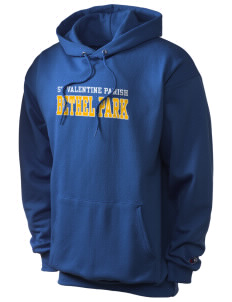 St Valentine Parish Bethel Park Champion Men's Hooded Sweatshirt