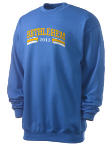 St. Anne Catholic Church Bethlehem Men's 7.8 oz Lightweight Crewneck Sweatshirt