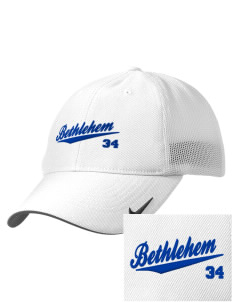 St. Anne Catholic Church Bethlehem Embroidered Nike Golf Mesh Back Cap
