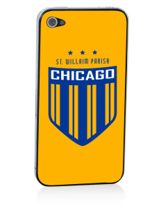 St. Willaim Parish Chicago Apple iPhone 4/4S Skin
