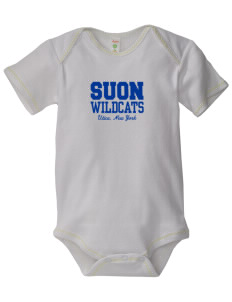 State University of New York Utica Wildcats Baby Zig-Zag Creeper
