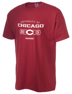 The University of Chicago Maroons  Russell Men's NuBlend T-Shirt