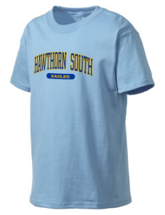 Hawthorn Elementary School South Eagles Kid's Lightweight T-Shirt