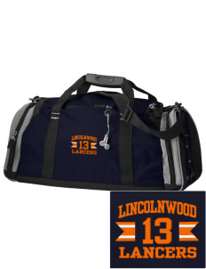 Lincolnwood Senior High School Lancers Embroidered OGIO All Terrain Duffel