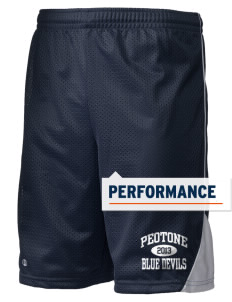 "Peotone High School Blue Devils Holloway Men's Possession Performance Shorts, 9"" Inseam"