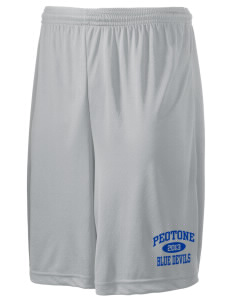 "Peotone High School Blue Devils Men's Competitor Short, 9"" Inseam"