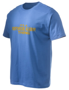 Northridge Academy High School Pumas Hanes Men's 6 oz Tagless T-shirt