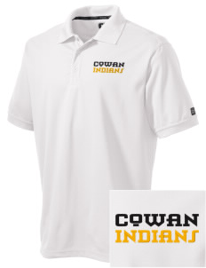 Cowan Elementary School Indians Embroidered OGIO Men's Caliber Polo