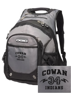 Cowan Elementary School Indians Embroidered OGIO Fugitive Backpack